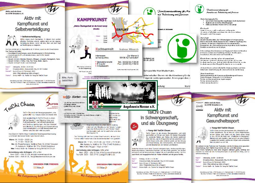 Duros RehaSport & Mobilitätstraining e.V., ATW Dresden e.V. & Andere