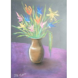 Blumen mit Vase